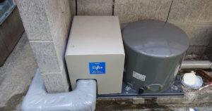 深井戸ジェットポンプの取替 KP-406LP