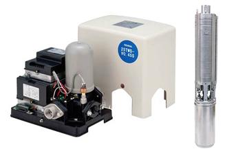 深井戸用インバーター式水中ポンプ(TWS-V型)
